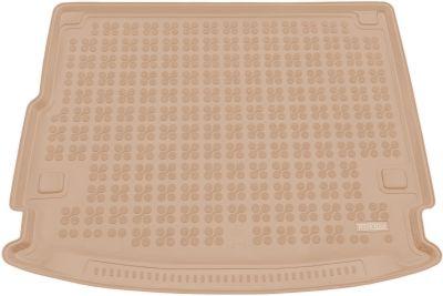 REZAW-PLAST beżowy gumowy dywanik mata do bagażnika Porsche Cayenne Hybryda od 2016r. 233503B/Z