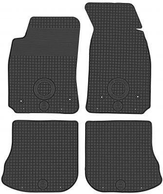 DOMA CZARNA Gumowe dywaniki samochodowe Audi A4 B5 od 1995-2001r.