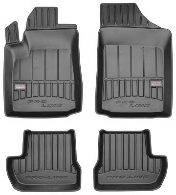 Gumowe dywaniki samochodowe Citroen C2 od 2003-2009r. FROGUM 3D408050