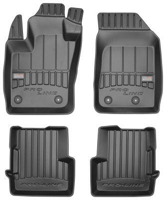 Gumowe dywaniki samochodowe Jeep Renegade od 2014r. FROGUM 3D408494