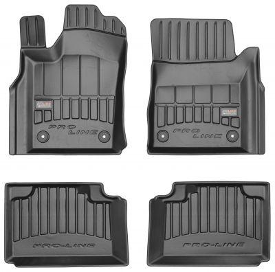 Gumowe dywaniki samochodowe Jeep Grand Cherokee WK2 od 2010r. FROGUM 3D408616