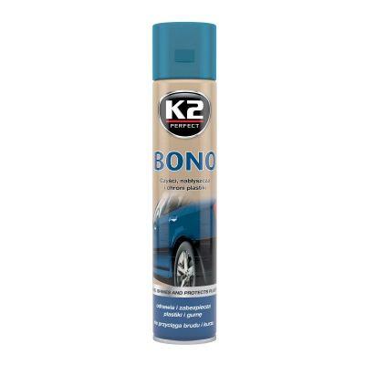 K2 BONO 300 ML Odnawia, nabłyszcza i chroni plastiki