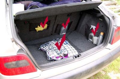 Siatka do bagażnika Audi A1 Hatchback 3D OD 2010r.