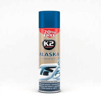 K2 ALASKA 500 ML Odmraża szyby nawet w -60°C K605