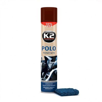 K2 POLO COCKPIT KAWA 750 ML + MIKROWŁÓKNO K407KA0
