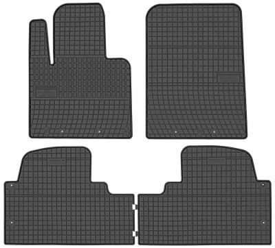FROGUM gumowe dywaniki samochodowe Hyundai Santa Fe III 5-osobowy od 2015r. 546047A