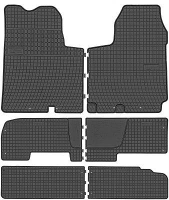 FROGUM gumowe dywaniki samochodowe Nissan Primastar 9os od 2001-2014r. 546177