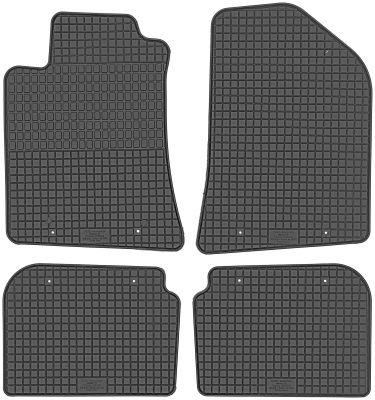 PETEX gumowe dywaniki samochodowe Toyota Avensis 4-drzwiowe 5-drzwiowe Kombi od 2003-2009r. P94010