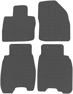 PETEX gumowe dywaniki samochodowe Honda Civic Hatchback 3-drzwiowe R+S od 2006-2011r. P99013