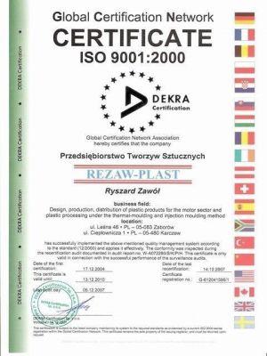 REZAW PLAST gumowe dywaniki samochodowe Audi A3 II Sportback od 2003-2012r. 200311
