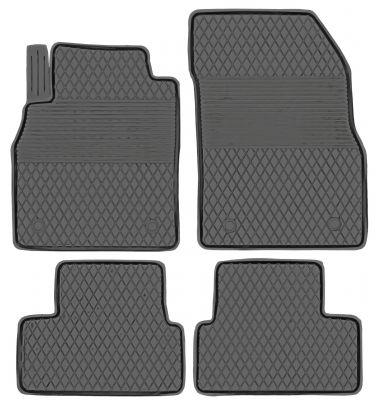 KORYTKA Gumowe dywaniki samochodowe Chevrolet Orlando od 2011r. (AJ-15)