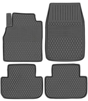 KORYTKA Gumowe dywaniki samochodowe Isuzu D-Max od 2012r. (AJ/A-19)