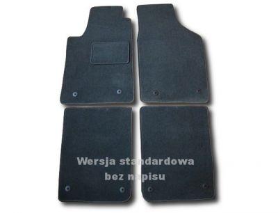 Dywaniki welurowe Audi A2 od 2002-2005r. ECONOMIC 01