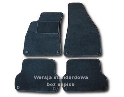 Dywaniki welurowe Audi A4 B6 B7 od 2000-2007r. ECONOMIC 01