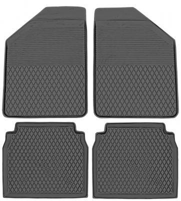KORYTKA Gumowe dywaniki samochodowe Daewoo Musso od 1995-2005r. (B-5)