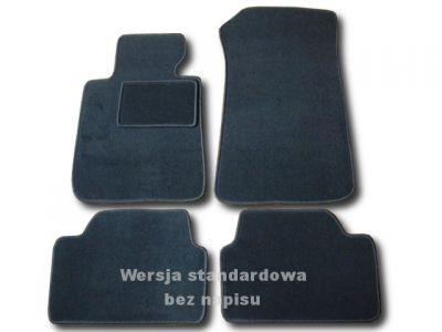 Dywaniki welurowe BMW s1 E87,E81,E82 od 2004-2011r. ECONOMIC 01