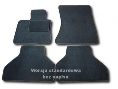 Dywaniki welurowe BMW X5 II E70 od 2007-2013r. LUX 9000