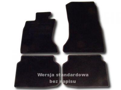 Dywaniki welurowe BMW s7 F01 4WD od 2008r. ECONOMIC 01