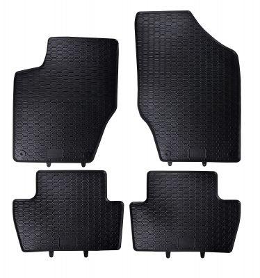 GEYER & HOSAJA  gumowe dywaniki samochodowe Citroen C4 od 2004-2010r. 824/4C