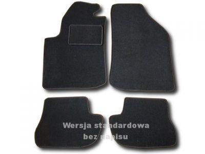 Dywaniki welurowe Citroen C2 od 2003r. ECONOMIC 01