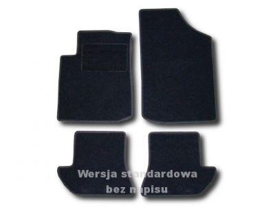 Dywaniki welurowe Citroen C3 Pluriel od 2003r. ECONOMIC 01