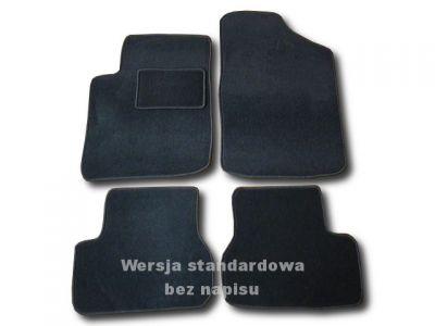 Dywaniki welurowe Citroen C3 od 2002-2009r. ECONOMIC 01