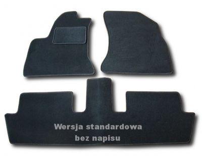 Dywaniki welurowe Citroen C4 Picasso od 2006-2013r. ECONOMIC 01