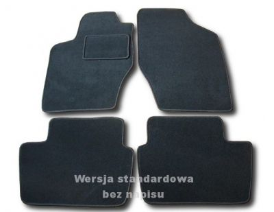 Dywaniki welurowe Citroen C4 od 2004r. ECONOMIC 01