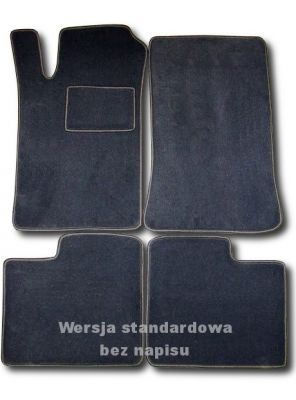 Dywaniki welurowe Citroen Xantia II od 1993-2001r. ECONOMIC 01