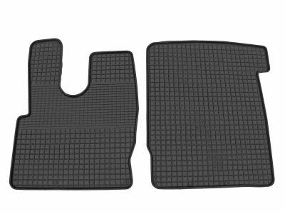 Gumowe dywaniki samochodowe ZWG (przednia kabina) DAF XF106 od 2014r