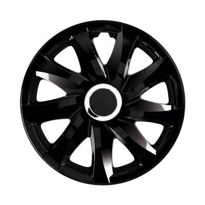 Kołpaki Drift Czarne (4-szt) rozmiar 16