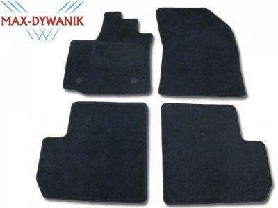 Dywaniki welurowe Dacia Lodgy od 2012r. ECONOMIC 01