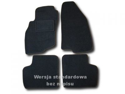 Dywaniki welurowe Fiat Punto Grande od 2005-2012r. ECONOMIC 01