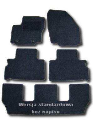 Dywaniki welurowe Ford Galaxy MK3 7os. od 2006r. LUX 9000