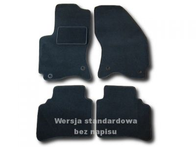Dywaniki welurowe Ford Mondeo MK3 od 2000-2007r. ECONOMIC 01
