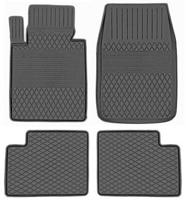 KORYTKA Gumowe dywaniki samochodowe BMW Mini R60 Countryman od 2010r. (HX/A-14)