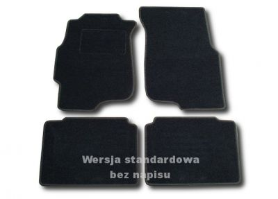 Dywaniki welurowe Honda Civic Sedan od 1995-2000r. ECONOMIC 01