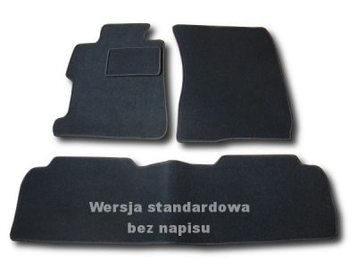 Dywaniki welurowe Honda Civic Sedan od 2006-2011r. ECONOMIC 01