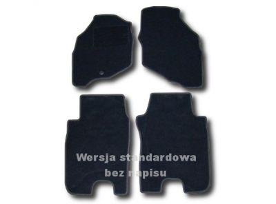 Dywaniki welurowe Honda Jazz od 2002-2008r. ECONOMIC 01