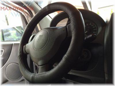 Skórzany pokrowiec na kierownice nakładka średnica 47-49cm