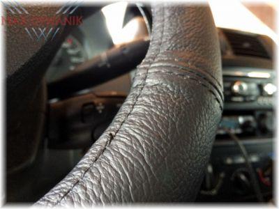 Skórzany pokrowiec na kierownice nakładka średnica 42-44cm