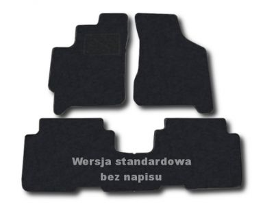 Dywaniki welurowe KIA Carens II od 2002-2006r. ECONOMIC 01