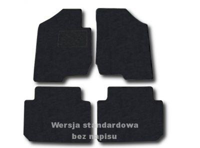 Dywaniki welurowe Kia Carens III od 2006r. LUX 9000