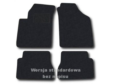 Dywaniki welurowe KIA Picanto od 2004-2011r. ECONOMIC 01