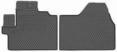 Gumowe dywaniki samochodowe Citroen Jumper 2-cz od 2006r. (KX)