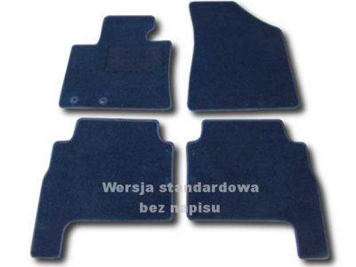 Dywaniki welurowe KIA Sorento II 5-osobowe od 2009-2012r. ECONOMIC 01