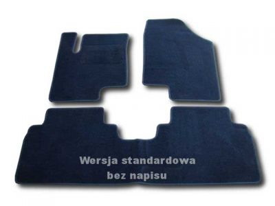 Dywaniki welurowe KIA Venga 5-drzwiowa od 2010r. ECONOMIC 01