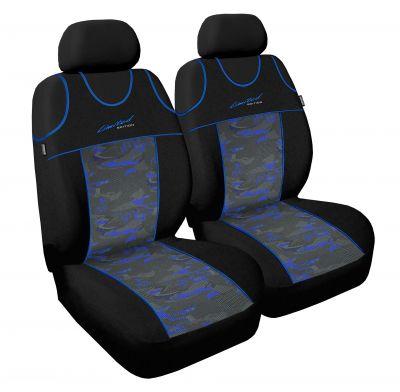 Koszulki samochodowe Limited - Niebieski - Zestaw 2 szt