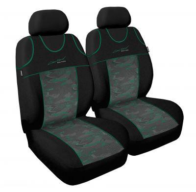 Koszulki samochodowe Limited - Zielony - Zestaw 2 szt