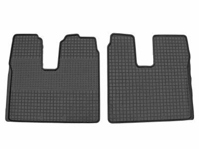 Gumowe dywaniki samochodowe ZWG (przednia kabina) MAN TGA TGX TGL szeroka kabina